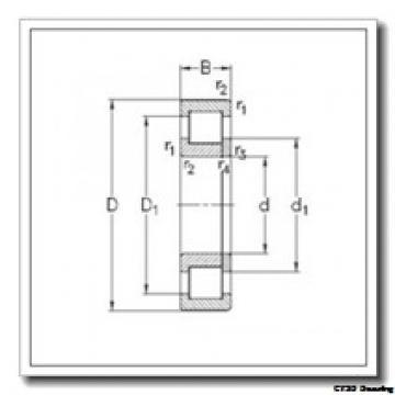17 mm x 40 mm x 12 mm  CYSD NUP203 CYSD Bearing