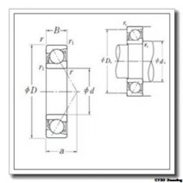 11,112 mm x 28,575 mm x 9,525 mm  CYSD 1615-ZZ CYSD Bearing