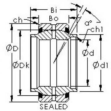 AST GEWZ95ES-2RS AST Bearing