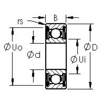 AST 6206ZZ AST Bearing