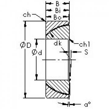 AST GAC30N AST Bearing