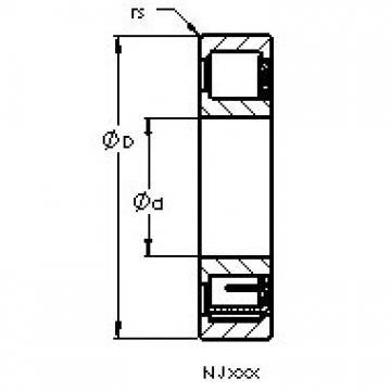 AST NJ408 M AST Bearing