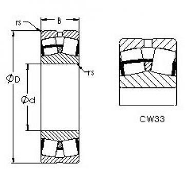 AST 22236CW33 AST Bearing