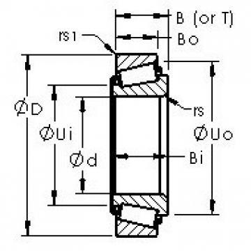 AST 28678/28622B AST Bearing