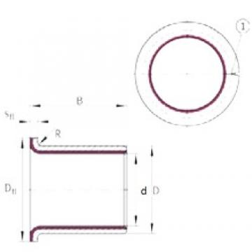 10 mm x 12 mm x 7 mm  INA EGF10070-E40-B INA Bearing