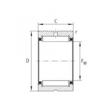 INA NK73/25-XL INA Bearing
