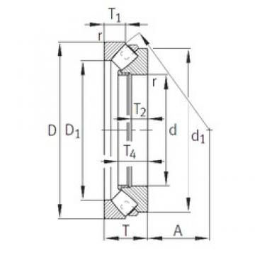 INA 292/500-E1-MB INA Bearing