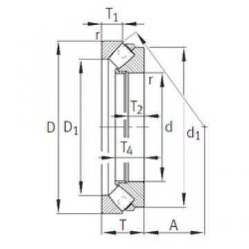 INA 293/710-E1-MB INA Bearing