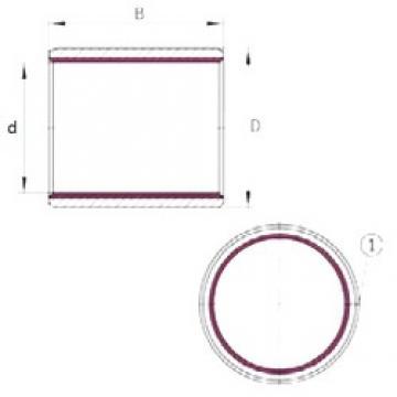 3 mm x 4,5 mm x 5 mm  INA EGB0305-E40 INA Bearing