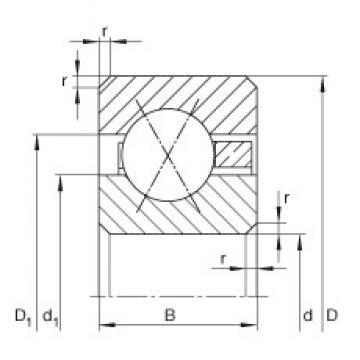 9 inch x 279,4 mm x 25,4 mm  INA CSXG090 INA Bearing