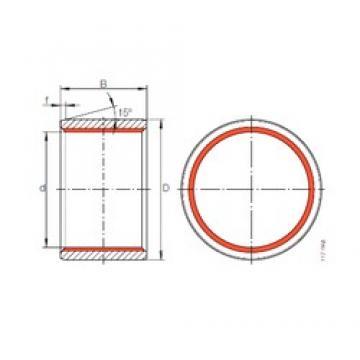 110 mm x 125 mm x 100 mm  INA ZGB 110X125X100 INA Bearing