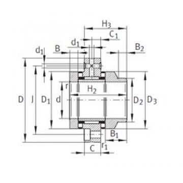 55 mm x 145 mm x 17,5 mm  INA ZARF55145-L-TV INA Bearing