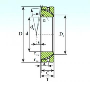 ISB GAC 60 S ISB Bearing