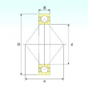 17 mm x 40 mm x 12 mm  ISB QJ 203 N2 M ISB Bearing