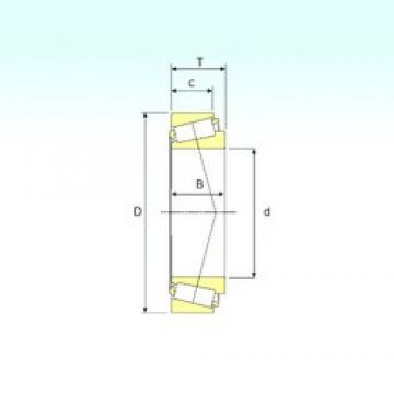 230,188 mm x 317,5 mm x 52,388 mm  ISB LM245846/810 ISB Bearing