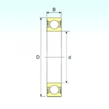 10 mm x 22 mm x 6 mm  ISB 61900-2RS ISB Bearing
