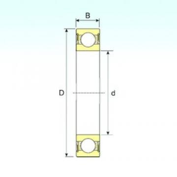 8 mm x 19 mm x 6 mm  ISB 619/8-2RS ISB Bearing
