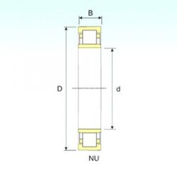 35 mm x 100 mm x 25 mm  ISB NU 407 ISB Bearing