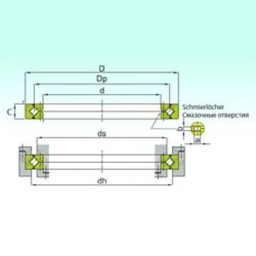 150 mm x 180 mm x 13 mm  ISB RE 15013 ISB Bearing