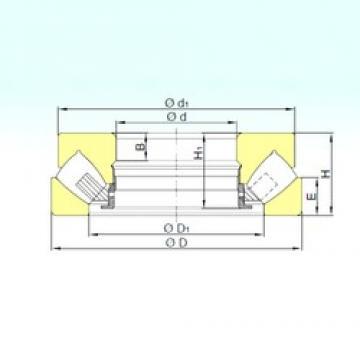560 mm x 750 mm x 37 mm  ISB 292/560 M ISB Bearing
