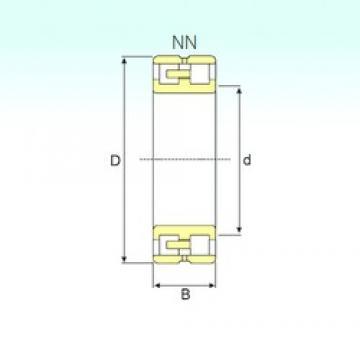 75 mm x 115 mm x 30 mm  ISB NN 3015 KTN/SP ISB Bearing