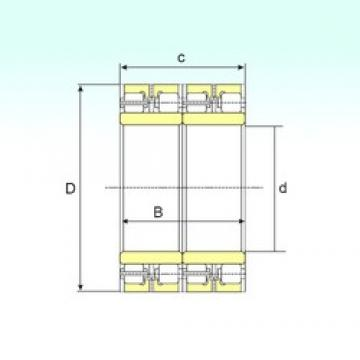 700 mm x 930 mm x 620 mm  ISB FCDP 140186620 ISB Bearing