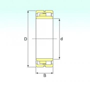500 mm x 830 mm x 325 mm  ISB NNU 41/500 K30M/W33 ISB Bearing
