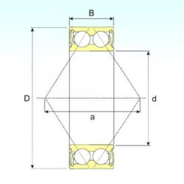 75 mm x 130 mm x 41,3 mm  ISB 3215-2RS ISB Bearing