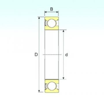 100 mm x 180 mm x 34 mm  ISB 6220-Z ISB Bearing