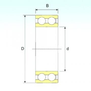 40 mm x 80 mm x 23 mm  ISB 4208 ATN9 ISB Bearing