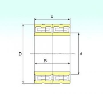 460 mm x 650 mm x 355 mm  ISB FCD 92130355 ISB Bearing