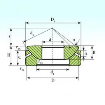 100 mm x 198 mm x 51 mm  ISB GX 100 S ISB Bearing