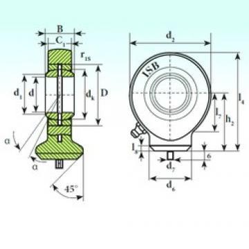 15 mm x 26 mm x 12 mm  ISB T.A.C. 215 ISB Bearing