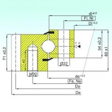 ISB EB1.25.0955.200-1STPN ISB Bearing