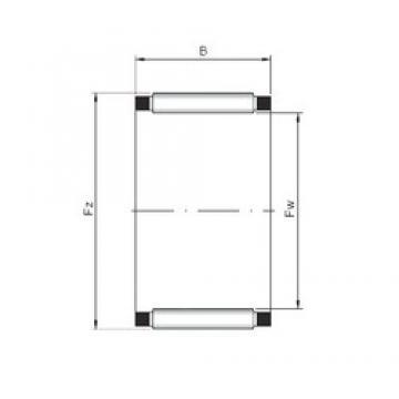 ISO K25x33x24 ISO Bearing