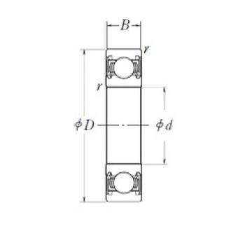 15 mm x 47 mm x 14 mm  NSK B15-86AT1XDDG3 NSK Bearing