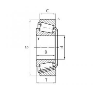 40 mm x 68 mm x 19 mm  CYSD 32008 CYSD Bearing