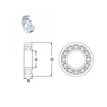 35 mm x 55 mm x 10 mm  ZEN 61907-2Z ZEN Bearing