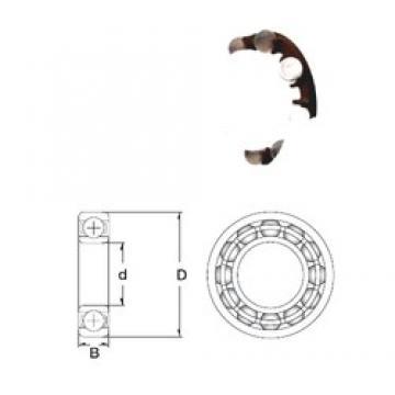 40 mm x 62 mm x 12 mm  ZEN P6908-SB ZEN Bearing