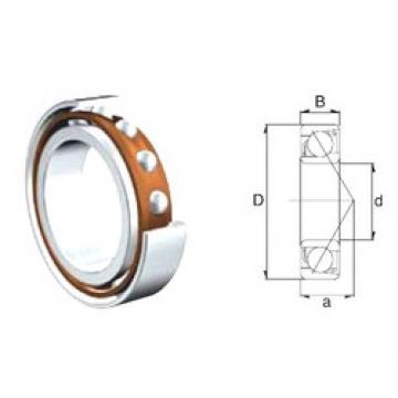 10 mm x 35 mm x 11 mm  ZEN 7300B-2RS ZEN Bearing