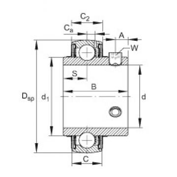 FAG UC212-39 FAG Bearing