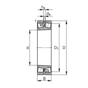 1250 mm x 1750 mm x 375 mm  FAG 230/1250-B-K-MB FAG Bearing