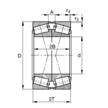 FAG 32022-X-XL-DF-A220-270 FAG Bearing