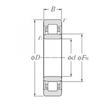 110 mm x 200 mm x 38 mm  CYSD NU222E CYSD Bearing