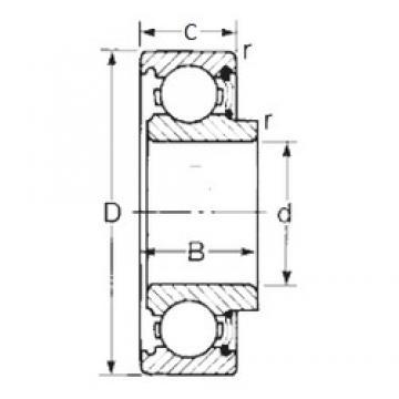 15 mm x 35 mm x 12,7 mm  CYSD 8502 CYSD Bearing