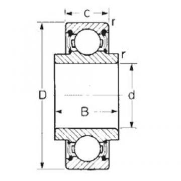 25 mm x 52 mm x 16,749 mm  CYSD 88505 CYSD Bearing