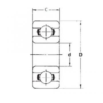 4,762 mm x 12,7 mm x 4,978 mm  FBJ 77R3 FBJ Bearing