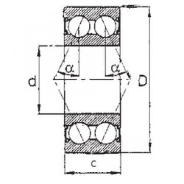 50 mm x 90 mm x 30,162 mm  FBJ 5210-2RS FBJ Bearing