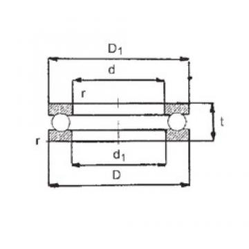 FBJ 51200 FBJ Bearing