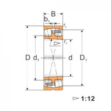 100 mm x 215 mm x 73 mm  FBJ 22320K FBJ Bearing